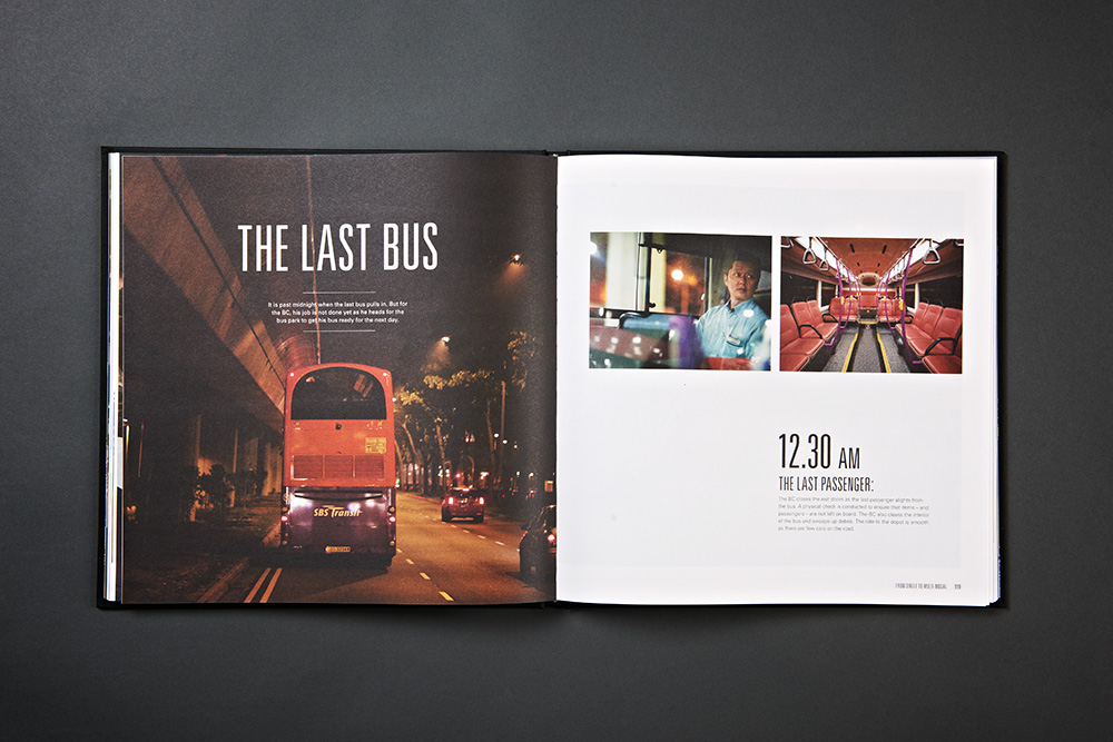 SBS Transit 40 Years Anniversary Book